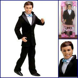 BARBIE Doll Ken Handsome Groom Doll Tuxedo Suit Jacket