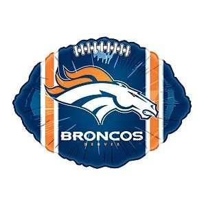 Denver Broncos Nfl Football 18 Mylar Balloon Sports