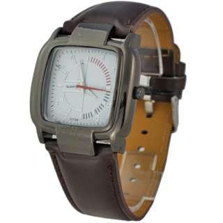Good Quality Luxurious Mens Boys Leatheroid Quartz Casual Wrist Watch