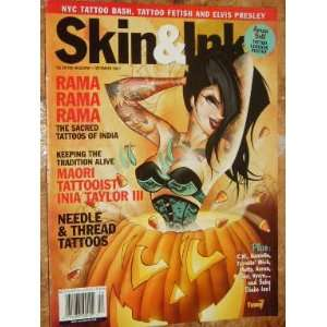 Skin & Ink Magazine Tattoos of India (December, 2007