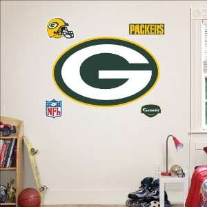 Green Bay Packers Logo Fathead: Toys & Games