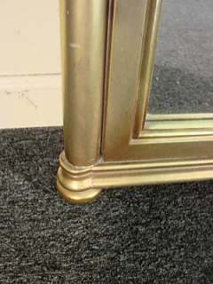Gold Hanging Hall Console Mirror