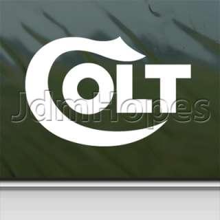 Colt Handgun Pistol Decal Car Truck Window Sticker