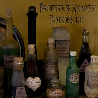 18 HARRY POTTER~AWESOME~ Potion Peel & Stick BOTTLE LABELS Polyjuice