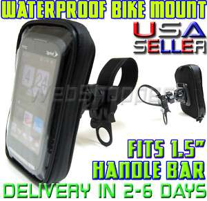 Smartphone WaterProof Bike Motorcycle HandleBar Mount