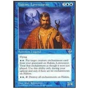 Magic: the Gathering   Hakim, Loreweaver   Mirage: Toys