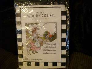 The Real Mother Goose Counted Cross Stitch Kit