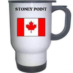 Canada   STONEY POINT White Stainless Steel Mug