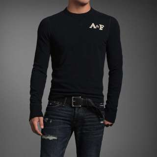 NWT ABERCROMBIE & Fitch Men Johns Brook Long Sleeve Tee T Shirt $50