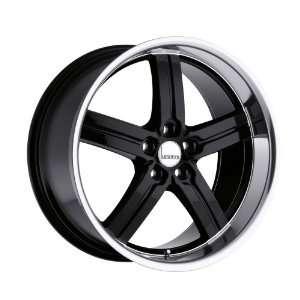 20x10 Lumarai Morro (Gloss Black w/ Mirror Lip) Wheels