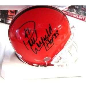 Paul Warfield Autographed Mini Helmet   Hof 83 W jsa