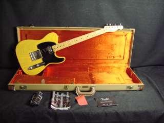 Fender USA 52 Hot Rod Telecaster Tele + Case Butterscotch