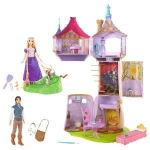 Featuring Rapunzel Fairytale Tower Rapunzel Braiding Friends Hair