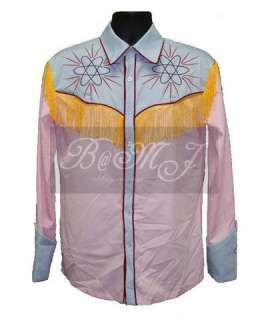BTTF BACK TO THE FUTURE Marty McFly 1885 Western Shirt