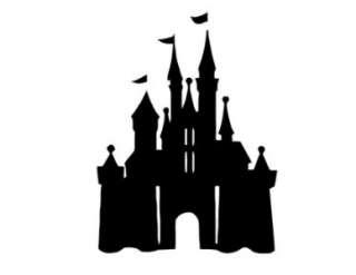 Disney Castle Cinderella Princess Vinyl Wall Decal