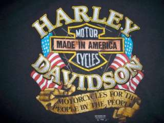 1990 Harley Motorcycle T Shirt Omaha Nebraska XL