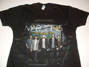 MAROON 5 CONCERT TOUR ROCK TEE   SHIRT SIZE SMALL** NEW