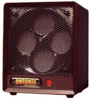 Pelonis 1500 Watt 5200 BTU 120V Ceramic Disc Heater with Steel Cabinet