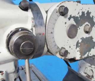 ACRAMILL 9x42 MODEL LS 25 VERTICAL METAL MILLING MACHINE *2HP MOTOR