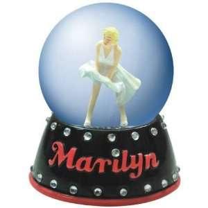 Marilyn Monroe Figurine White Dress Marilyn Waterglobe