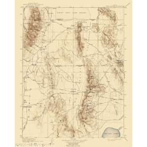 USGS TOPO MAP FISH SPRINGS QUAD UTAH (UT) 1910