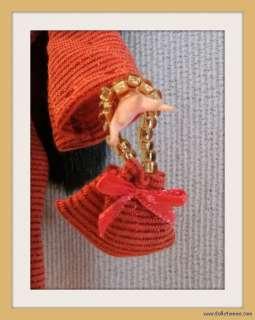 HANDMADE CHRISTMAS 5pc CUSTOM FASHION Clothes Dress Jewelry 4 MONSTER