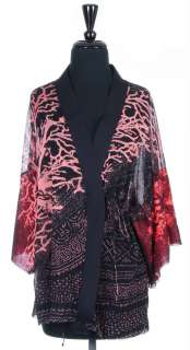Authentic JOHN PAUL GAULTIER Kimono Wrap Top, Size M