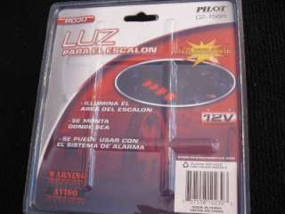 is a NEW RED LED STEP LIGHTS 4 PACK CAR TRUCK SUV LIGHT KIT