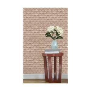 Gio Mocha Rose Designer Removable Wallpaper: Everything Else