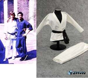 Chuck Norris 1/6 Way of Dragon Judo Suit @ Head Enterbay Kung Fu Bruce