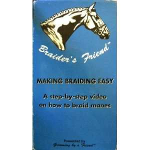 Braiders Friend: Making Braiding Easy  A Step by Step Video on How to