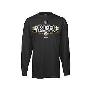 Reebok Pittsburgh Steelers 2010 Division Champions Long Sleeve Locker