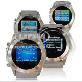 Unlocked Mobile Wrist Watch Cell Phone Camera DVR S360