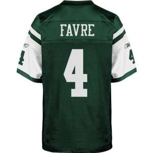 Brett Favre Green Reebok NFL Premier New York Jets Youth