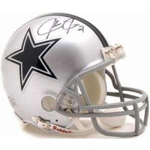 Julius Jones autographed Football Mini Helmet (Dallas Cowboys)