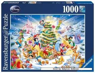 Ravensburger 1000 pieces jigsaw puzzle Disney   Christmas with Disney