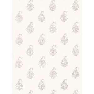 Schumacher Sch 5005280 Kerala Paisley   Oyster Wallpaper