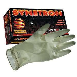Microflex Synetron Latex Gloves; size, extra large