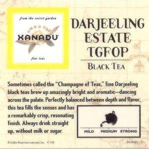 Xanadu Darjeeling Estate TGFOP Loose Leaf Tea:  Grocery