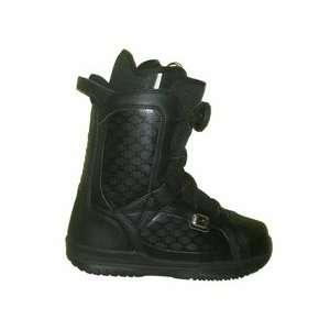 DC Scout Mens Boa Echo Liner Snowboard Boots Size 5 Black