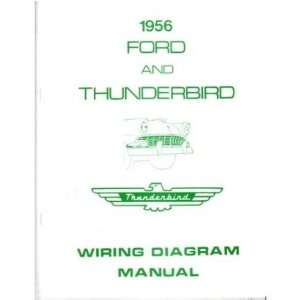 1956 FORD Full Line Wiring Diagrams Schematics Automotive