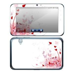 Pink Butterfly Fantasy Decorative Skin Decal Sticker for Dell Streak 7