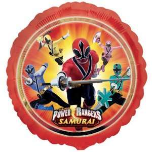 Party By Mayflower Distributing Power Rangers Samurai Foil Balloon