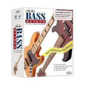 MUSIC CORP EG27103 EMEDIA BASS METHOD V2 ONLINE: Office Products