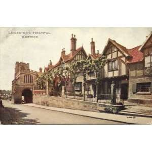 Postcard Leicesters Hospital Warwick England UK Everything Else