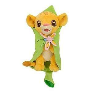 Lion King Baby Simba With Blanket: Disney Babies Plush
