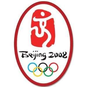 Beijing 2008 Olympic Games bumper sticker decal 3 x 5
