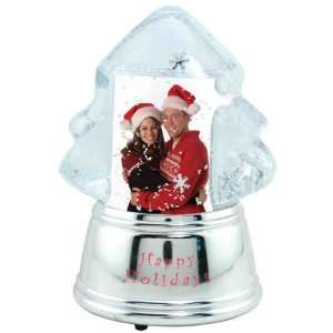 Christmas tree snow globe.