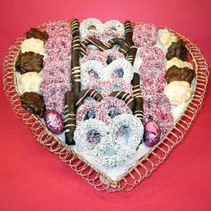 Valentines Day Chocolate Gift Basket Grocery & Gourmet Food