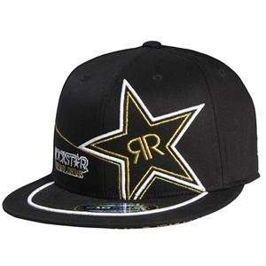 Fox Racing Rockstar Golden 210 Fitted Hat   Small/Medium